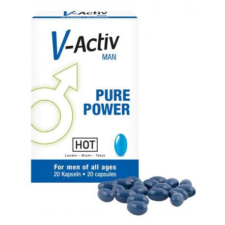 Tablety V-Activ for Men - afrodisiakum pro muže