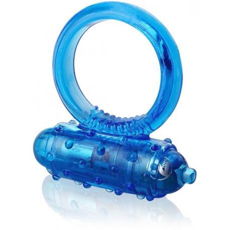 Vibrační erekční kroužek Vibro Ring (modrý)