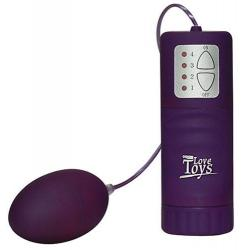 Vibrační vajíčko Velvet Purple Pill (fialové)