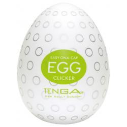 Tenga Egg Clicker - masturbátor pro muže