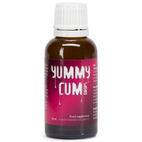 Yummy Cum - kapky pro lepší chuť spermatu