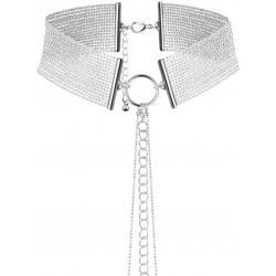 Náhrdelník - obojek Magnifique Silver, stříbrný