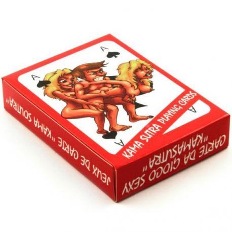Erotické hrací karty Kama Sutra