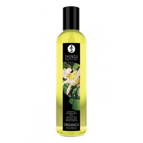 Erotický masážní olej Green Tea Organica (BIO)