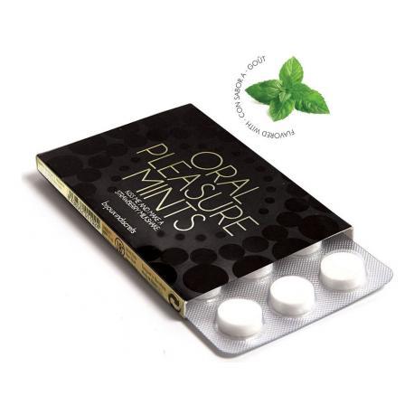 Bonbóny Oral Pleasure Mints Peppermint (na orální sex)