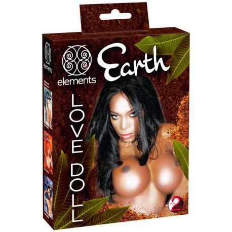 Nafukovací panna Earth - 3 otvory