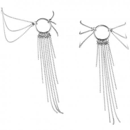 Ozdoba na kotníky Magnifique (stříbrná)