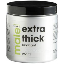 Extra hustý anální lubrikační gel MALE EXTRA THICK