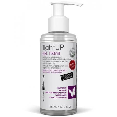 Lubrikační gel s efektem zpevnění a zúžení vaginy TightUP - Lovely Lovers