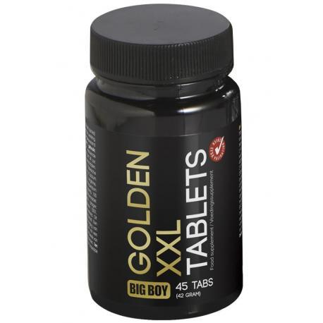 Tablety na zvětšení penisu BIG BOY Golden XXL