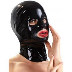 Anatomicky tvarovaná latexová maska, unisex