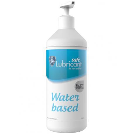 Vodní lubrikační gel Safe - 500 ml