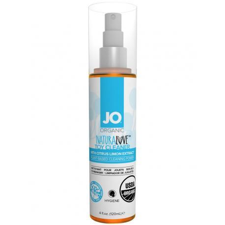 BIO čisticí sprej na erotické pomůcky Organic NaturaLove - System JO (120 ml)