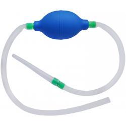 Průtokový klystýr s balónkem, silikonový
