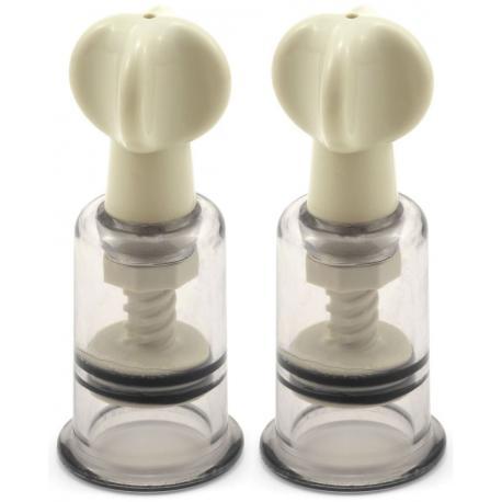 Vakuová pumpička na bradavky a klitoris - sada 2 ks