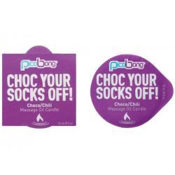 Masážní svíčka PicoBong Choco & Chili - 15 ml