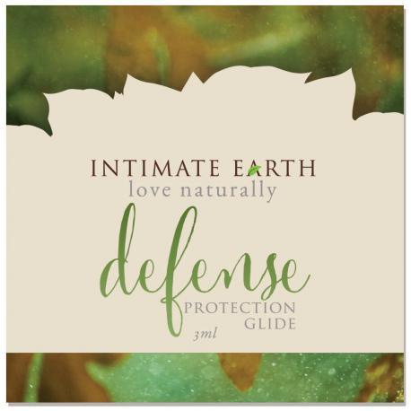 Ochranný lubrikační gel Defense - VZOREK (Intimate Earth)