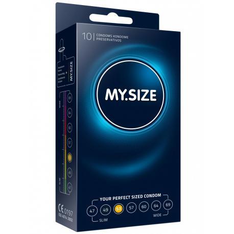 Kondomy MY.SIZE 53 mm - 10 ks