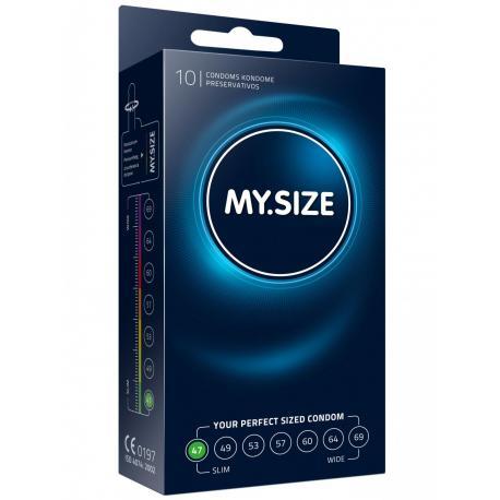 Kondomy MY.SIZE 47 mm - 10 ks