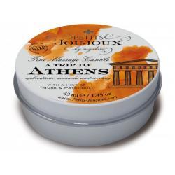 Masážní svíčka A Trip To Athens Petits Joujoux - 43 ml