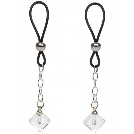 Šperk na bradavky Crystal Gem - 2 ks