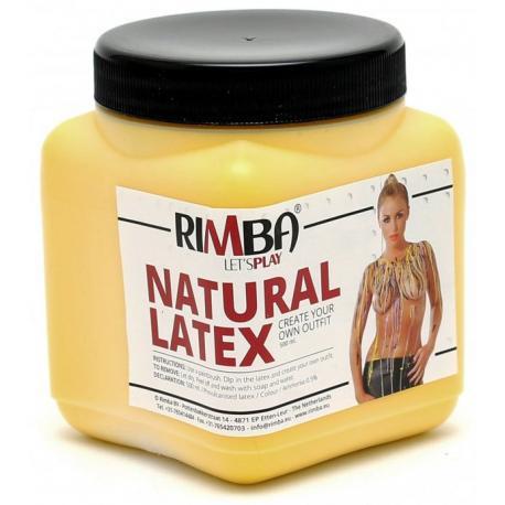 Tekutý latex ve žluté barvě Rimba - 500 ml
