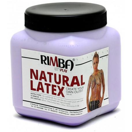 Tekutý latex ve fialové barvě Rimba - 500 ml