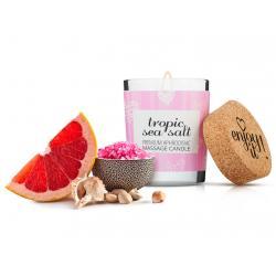 Afrodiziakální masážní svíčka MAGNETIFICO - Enjoy it! (tropic sea salt)