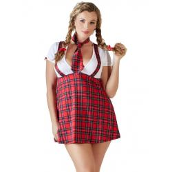 Kostým Školačka - Schoolgirl Plus Size (Cottelli Collection)