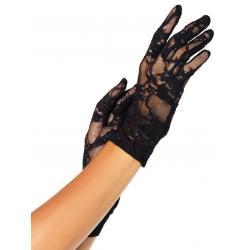Krátké krajkové rukavice - Leg Avenue