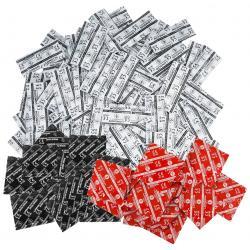 Balíček kondomů Durex LONDON mix 50 ks (klasické, anální, jahodové)