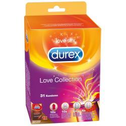 Sada kondomů Love Collection, 31 ks - Durex