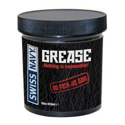 Anální olejový lubrikační gel Grease, 473 ml - Swiss Navy