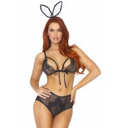 Roleplay kostým Zajíček (Bedroom Bunny) - Leg Avenue