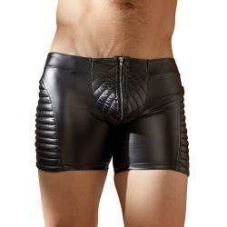 Wetlook prošívané pánské boxerky se zipem NEK