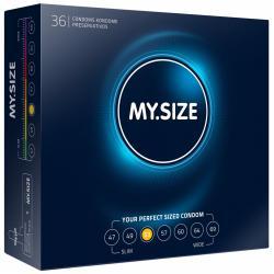 Kondomy MY.SIZE 53 mm - 36 ks