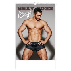 Nástěnný kalendář SEXY BOYS 2022