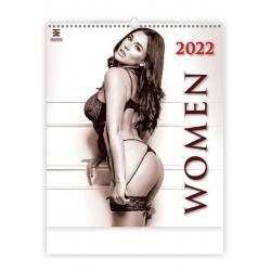 Nástěnný kalendář WOMEN 2022 (exclusive edition)